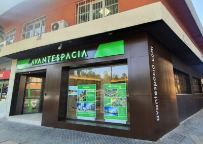 Reforma íntegra para apertura de la oficina comercial de AVANTESPACIA00